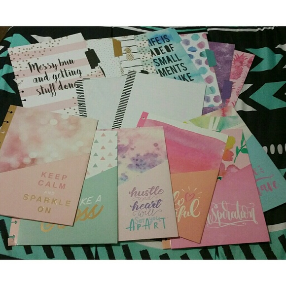 My happy planner extension packs classic size
